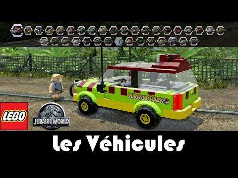 LEGO Jurassic World - Les Véhicules / Vehicles