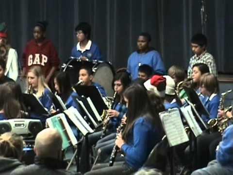 La Mesa Middle School Xmas Concert  YouTube