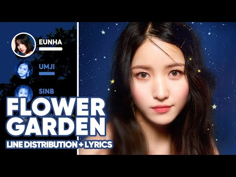 Gfriend Flower Garden Line Distribution Lyrics Color Coded Patreon Requested