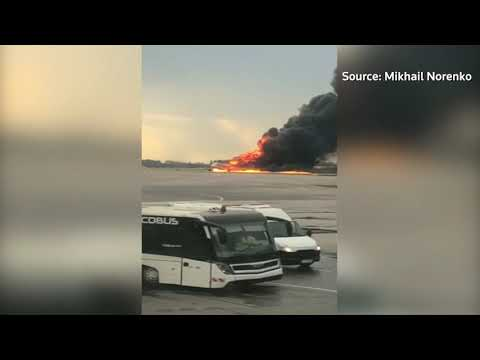 At least 13 killed when Russian plane catches fire mid-air: Agencies