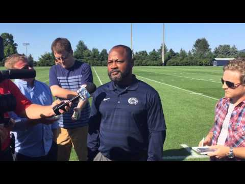 Penn State Coach Terry Smith, a former Lions' letterman, Talks Jersey Change