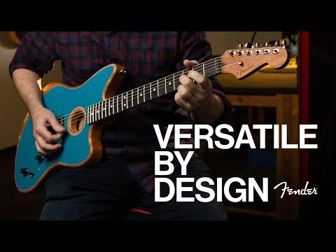 Versatile By Design EP 1 (Ft. Michael Lemmo) | American Acoustasonic Jazzmaster | Fender