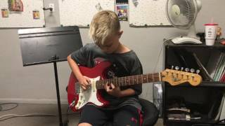 11 Year Old Plays Sweet Child O