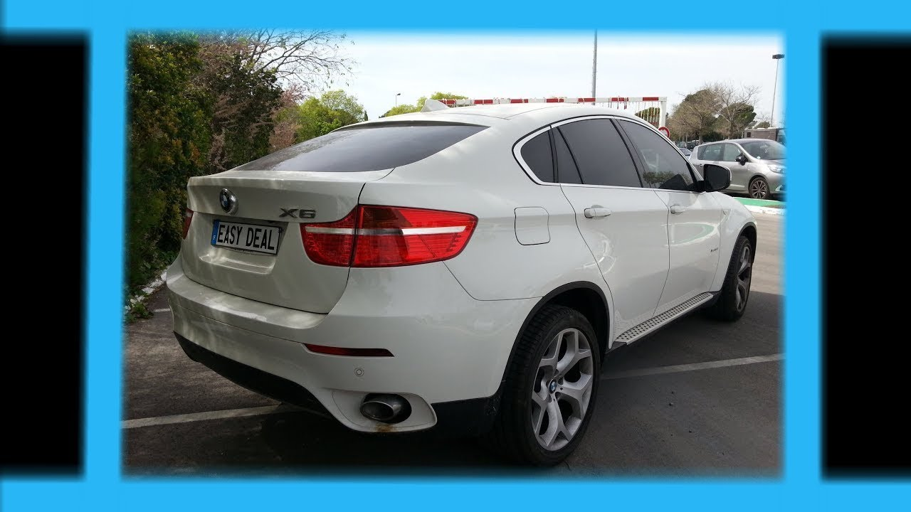 bmw x6 blanc 35d xdrive 286ch youtube. Black Bedroom Furniture Sets. Home Design Ideas