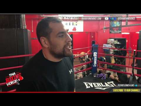 Derric Rossy Doesn't Get Why Luis Ortiz is Most Feared Heavyweight, Talks Stiverne Mandatory Spot