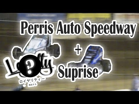 Perris Auto Speedway + Announcement