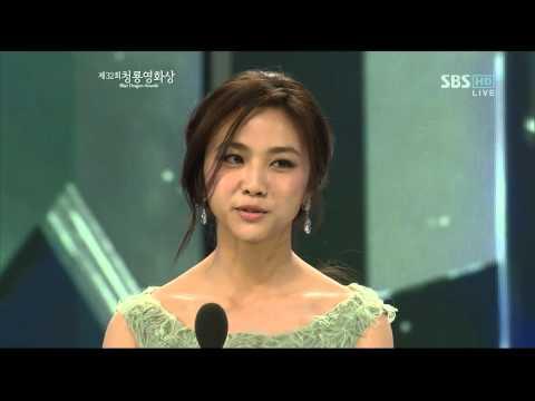 第32届韩国青龙映画赏汤唯颁奖Tang Wei 탕웨이 タン・ウェイ