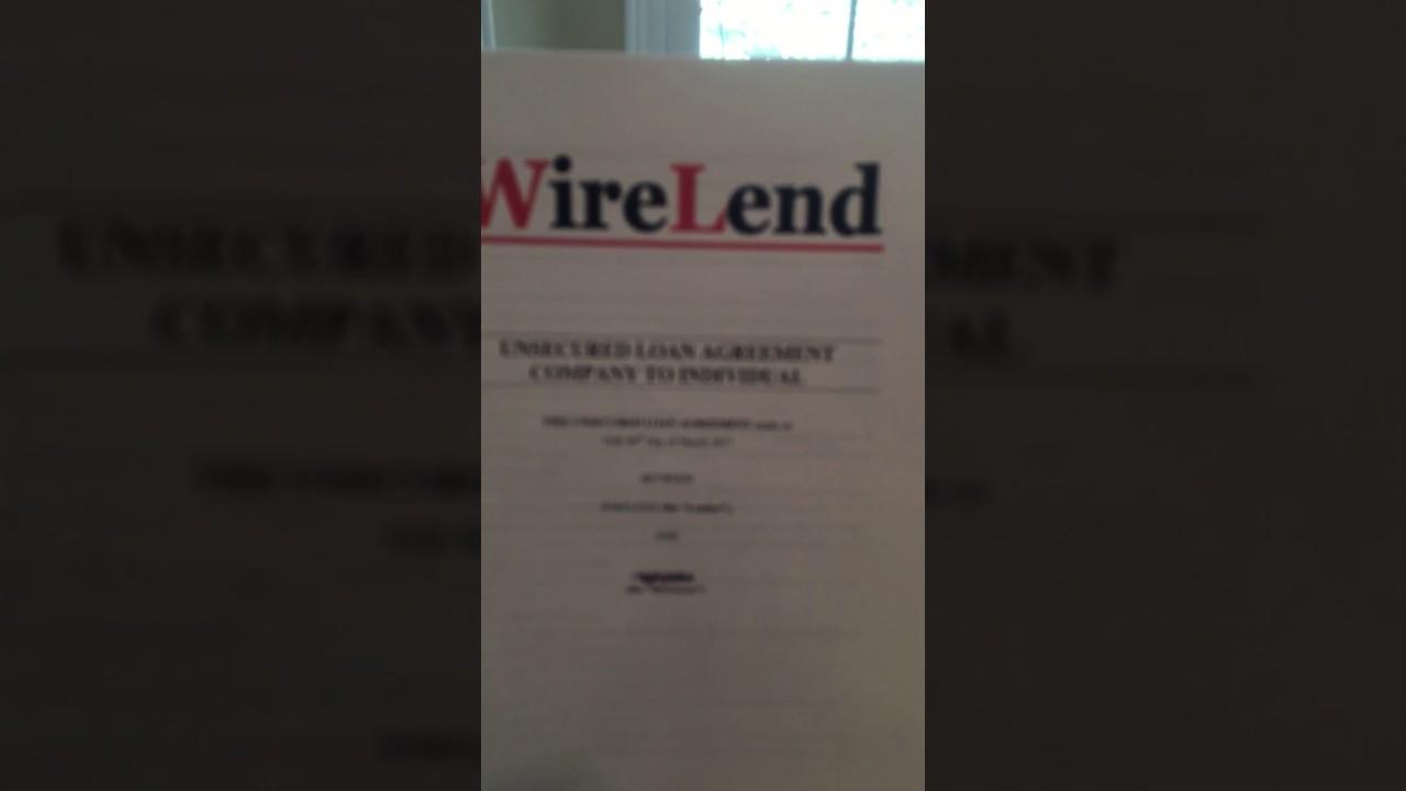 Wirelend Loan Scam