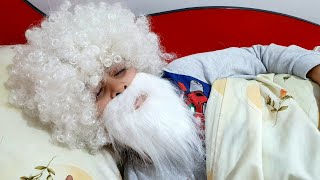 Buğra Uyanmayınca Dedeye Dönüştü. Eğlenceli Çocuk Videosu