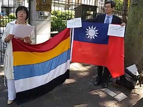 20150911 汤志敏申领中华民国护照 感言