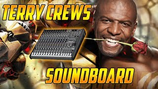 Using a Terry Crews Soundboard in Overwatch Competitive! (Overwatch Trolling) thumbnail
