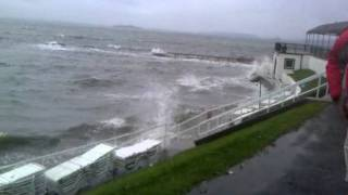 Hurricane Irene - Larchmont Shore Club