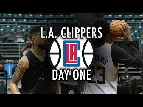 L.A. Clippers Training Camp: Day 1