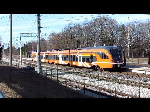 STADLER FLIRT Дизель-Поезд / Stadler FLIRT Diesel Multiple Unit