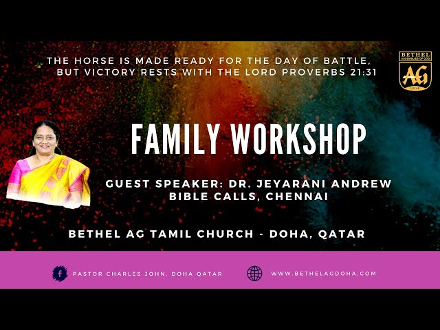 BTAG - Family Workshop 2021