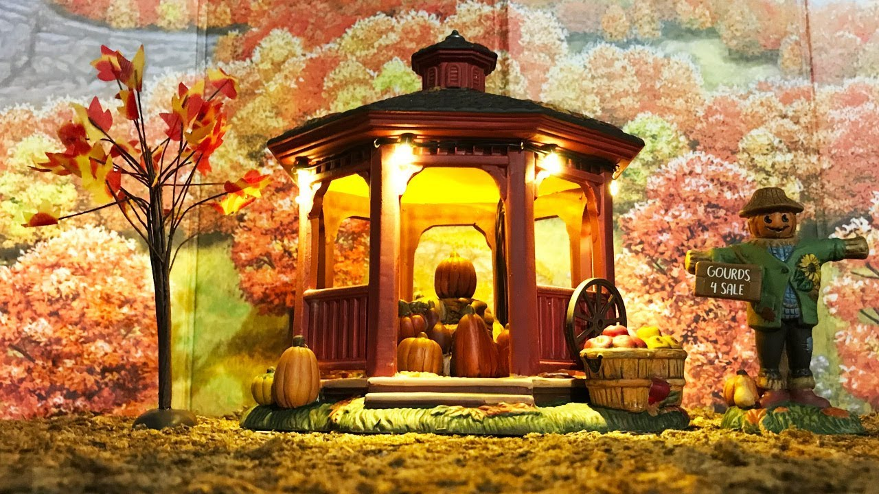harvest gazebo review new for 2018 department 56 halloween harvest