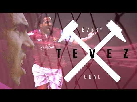 EVERY CARLOS TEVEZ GOAL FOR WEST HAM