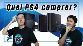 🌎Qual PS4 comprar? Ps4 Pro, Slim ou Fat?!