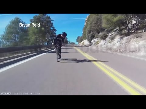 D-Wayne Chavez - OUCH!!! Cyclists crashes into deer on Mt. Lemmon!