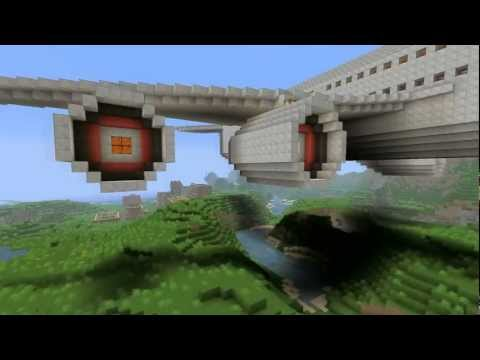 Minecraft big airplane