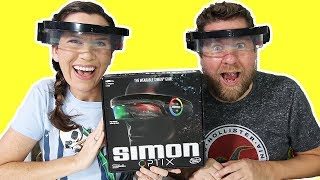 Simon Optix Game - Play It On Your Face