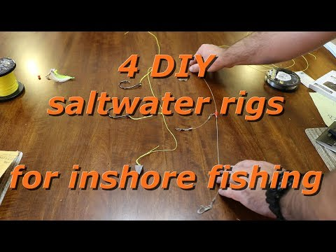 4 DIY Saltwater Rigs For Inshore Fishing