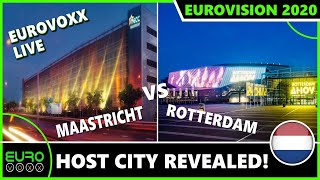 EUROVISION 2020: ROTTERDAM TO HOST EUROVISION SONG CONTEST! EUROVOXX LIVE REACTION!