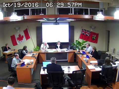 Council Meeting - Oct 19, 2016 - Part 3 (audio missing from source file)