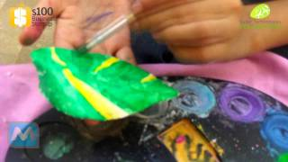 Plaster of Paris - Painting Shapes