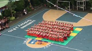 TARI RATOH JAROE (OPENING CEREMONY ASIAN GAMES) HUT SMAN 68 JAKARTA 2018