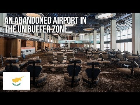 Thrilling adventure to an abandoned airport in the buffer zone of Cyprus