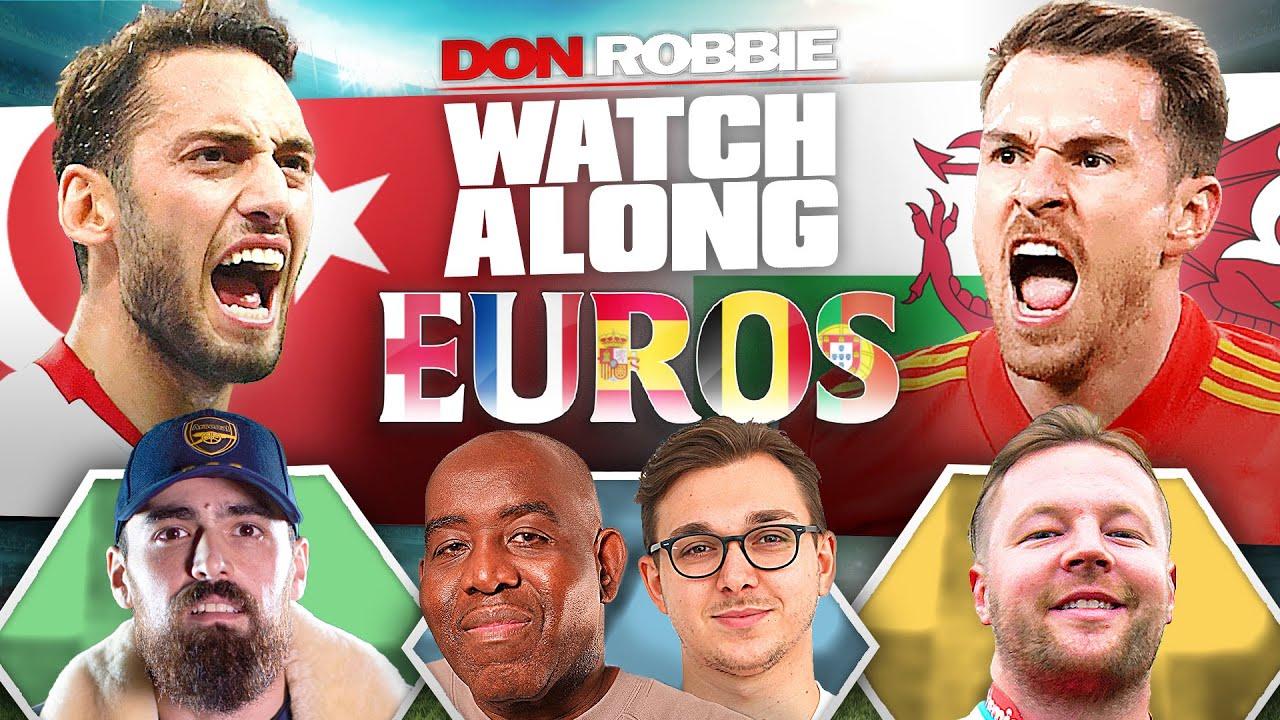 Turkey vs Wales   Euro 2020 Watch Along LIVE Ft Turkish, AGT & James B