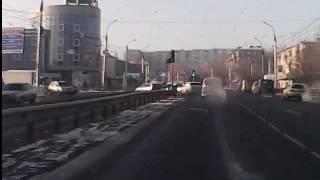 бухой на дороге. Иркутск