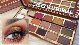 Too Faced Gingerbread Spice Palette Overview & Tutorial