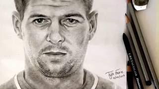 Drawing Steven Gerrard | Tyla Fourie