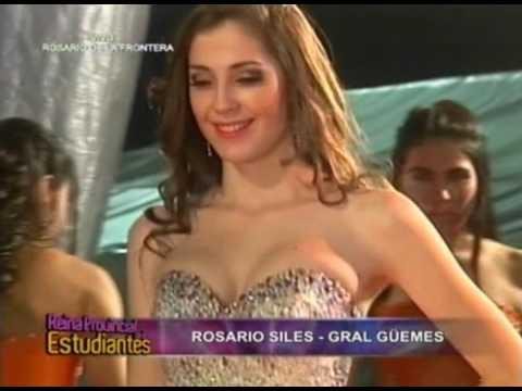 Rosario Siles - Reina Departamental de los Estudiantes 2014 - 2
