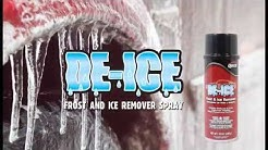 De-Ice, Frost and Ice Remover
