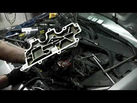 Renault Megane_2 2008 год двс К4М ремонт гбц,  часть 1