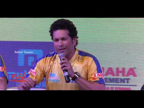 Sachin Tendulkar and Kamal Haasan launches Tamil Nadu Team Pro Kabaddi 2017 | Behind Cinemas