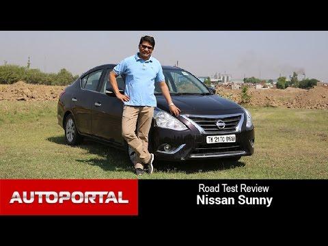 Nissan Sunny Road Test Drive - Autoportal