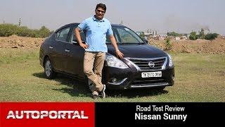 Nissan Sunny Test Drive Review - Autoportal