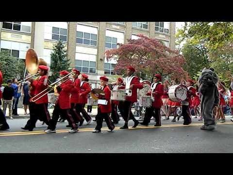 "Trexler Middle School Band - Allentown 250 ""Points Of Pride"" Parade - 9/29/12"