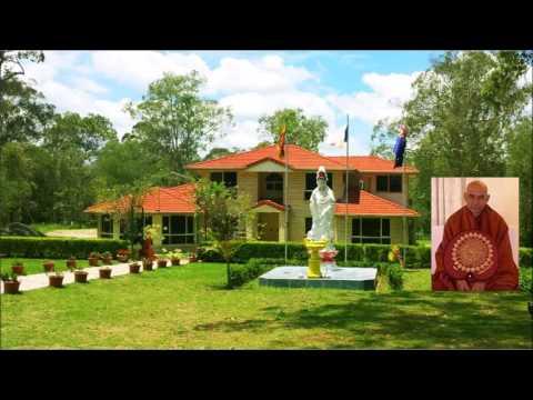 Most Venerable Uda Eriyagama Dhammajīva Mahā Thero - Brisbane Retreat 2016 (Talk1)