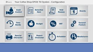 Coffee shop epos systems till by south west