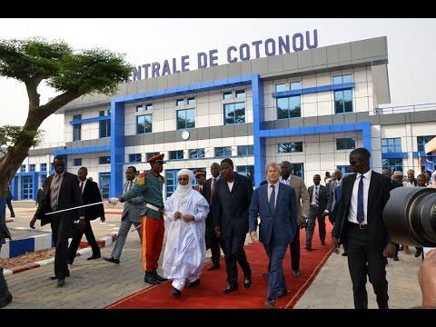 Blueline Bénin : Inauguration gare de Cotonou et Bluezone de Zongo (Groupe Bolloré)