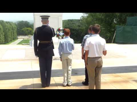 La Center Middle School Tomb of the Unknown Wreath Ceremony