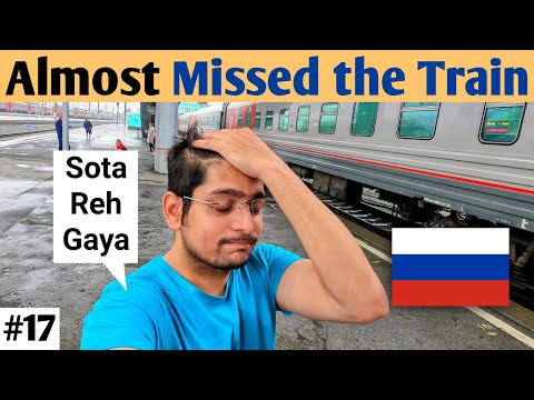 4th TRANS SIBERIAN TRAIN    Novosibirsk to Yekaterinburg (Indian in Russia)