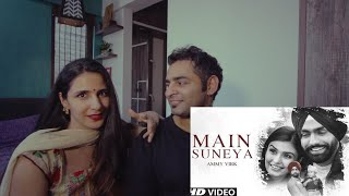 Ammy Virk: Main Suneya Reaction Feat. Simran Hundal, Rohaan |SunnyV, Raj |Navjit B | Bhushan Kumar
