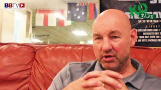 "GARY BOOTH: ""IN BOXING YOU HAVE TO TRUST YOUR COACH"""