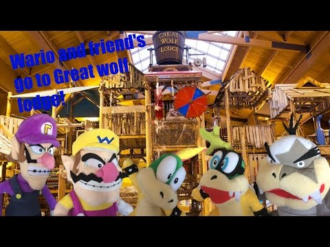 Wario and friends go to great wolf lodge (SMR Movie)